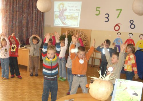 Workshop im Kindergarten